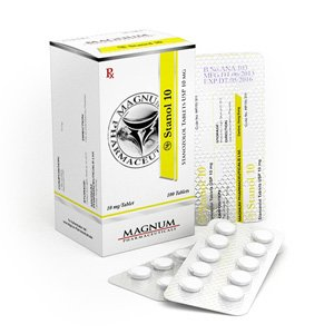 Buy online Magnum Stanol 10 legal steroid